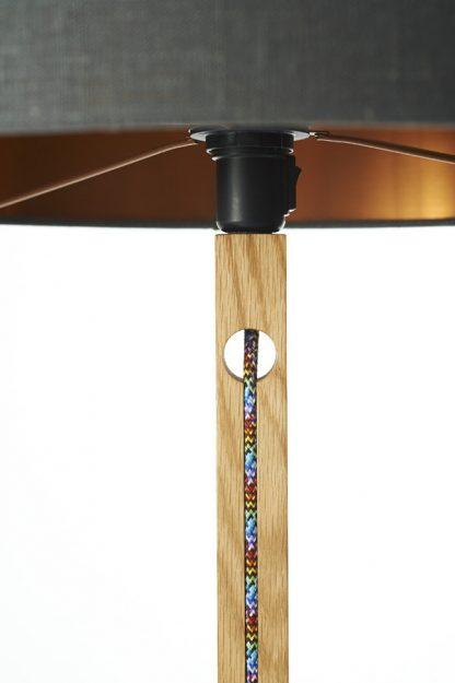MLSL01 Standard Lamp Multi Coloured Cord