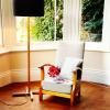 MLSL01 Standard Lamp Black Shade