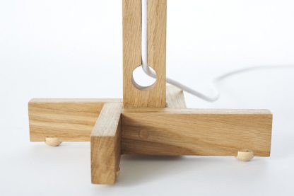 MLTL02 Table Lamp Feet and Lower Cord Recess Detail