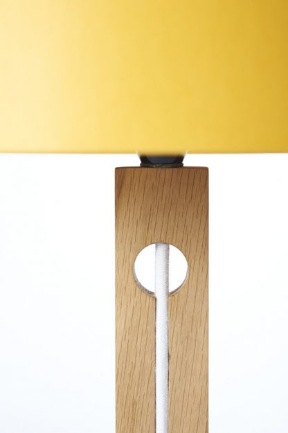 MLTL02 Table Lamp showing White Cord Recess detail