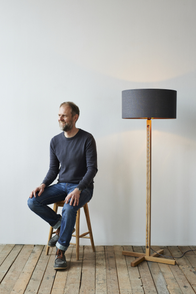 Mark Lowe Lighting Photo of Mark and Standard Lamp