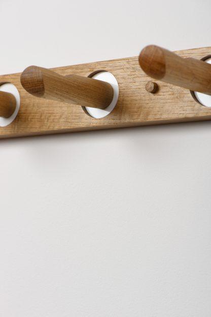 Edie Coat Rack in Sustainable Oak