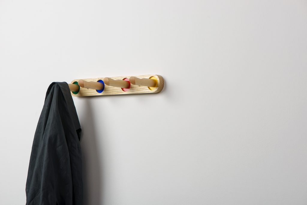 Edie Coat Rack in Ash